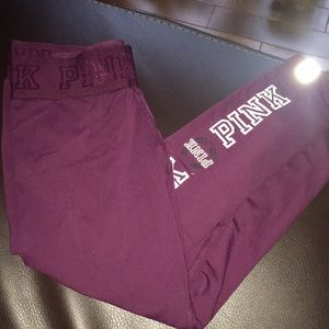 Pink Maroon Ultimate Capri Legging Limited Edition